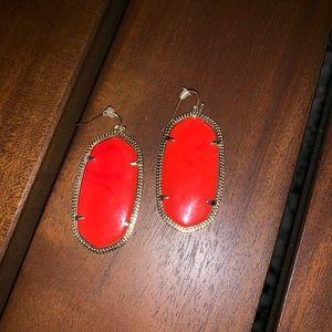 Kendra Scott Red Earrings